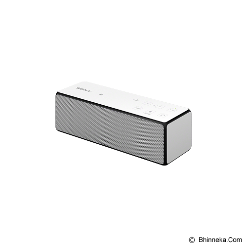 SONY Portable Wireless [SRS-X33] - White - Speaker Bluetooth & Wireless